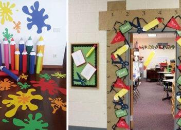 Паперовий декор для дитячих садочків до шкіл (23 ідеї)