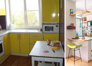 Продуманий дизайн для маленької кухні: 45 реальних ідей