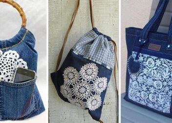 Шиємо круті сумки зі старих джинсів (14 виробів)
