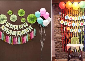 Оформляємо дитяче свято самотужки: 23 ідеї та фото-кроки із виготовлення декору