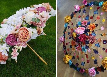 Квітучі парасольки - декор для фотосесій та тематичних свят