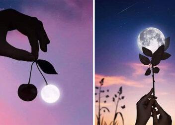 Фотосесія із місяцем. 10 ідей для фотографів