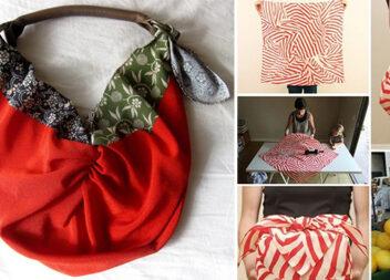 Практичні японські сумки-фуросікі зі схемами