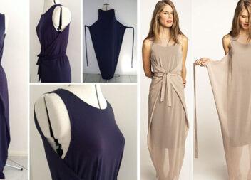 Універсальні літні сукні: два варіанти в одному (моделі)