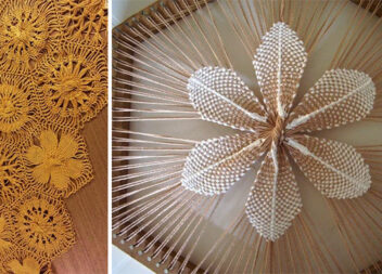 Плетемо квіти в техніці тенеріфе. Майстер-клас