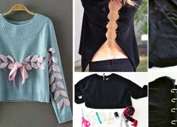 10 крутих ідей переробки старого одягу - і модно, і гаманцю не шкодить!