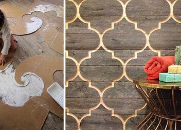 Колоритно і фактурно: 36 креативних ідей фарбування стін і підлоги
