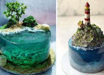 20 кондитерських шедеврів: кухарі сумують за тропічним островам і відтворюють їх у вигляді тортиків