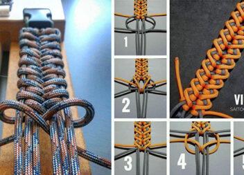 Круті браслети, які можна зробити самотужки із мотузки чи шнурівки