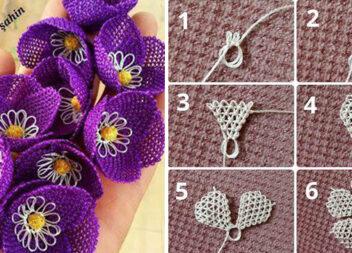 Плетіння фриволіте: квіти наче мереживо...
