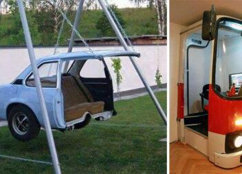 Як використати поламаний автомобіль, автобус... чи гвинтокрил, які не піддаються ремонту