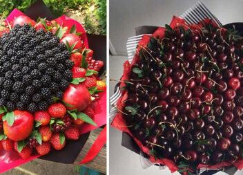 Даруємо їстівні букети! Чудова заміна традиційним квітам!
