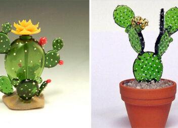 Обережно, скло! Чарівні кактуси, виготовлені із крихкого матеріалу