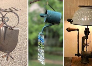 Що можна зробити зі старих господарських речей: 24 незвичні ідеї