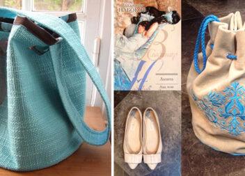 Виготовляємо модну сумку-мішок із круглим дном самотужки