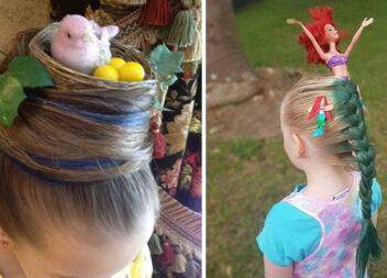 Дивні дитячі зачіски, які вигадали креативні батьки ;)