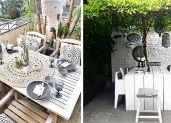 Обідня зона на вулиці: більше 20 ідей для двору та балкону