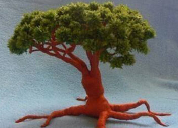 Бонсай із паперу: створюємо чудове деревце самотужки!