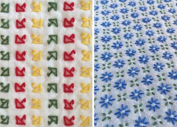 Дрібна вишивка: як красиво зашити полотно