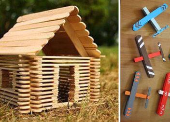 Ідеї виробів із дерев'яних паличок