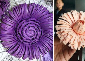 Квіти із кольорового паперу: краса, яку можна виготовити самотужки