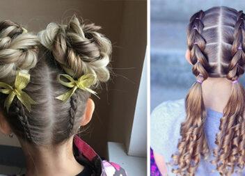Готуємося до школи: більше 50 класних зачісок для дівчаток