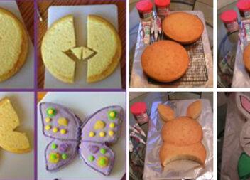 Печемо торти нестандартної форми. Схеми створення коржів