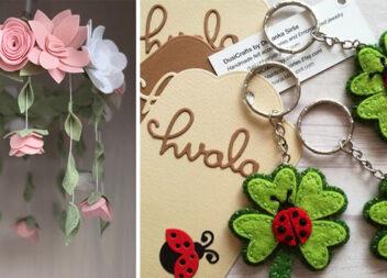 Фетрові квіти: красиве доповнення до образу