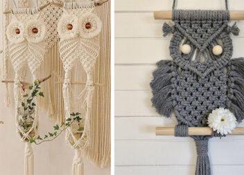 Техніка плетіння макраме. Цікаві вироби