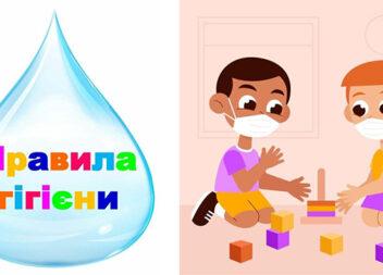 Куточок гігієни. Інформативні картинки для шкіл та садочків