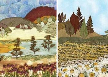 Картини із природних матеріалів: краса, що заворожує