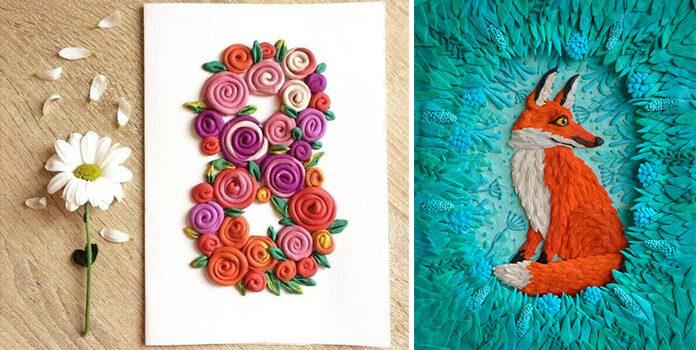 Малюємо з допомогою пластиліну. 60 чудових аплікацій та картин