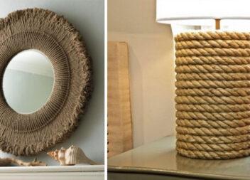 Унікальний декор із звичайної мотузки: ідеї та покрокові фото