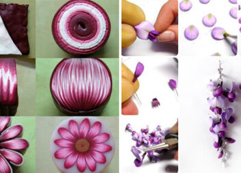 Працюємо із пластикою: унікальні вироби та техніки змішування кольорів (75 фото)