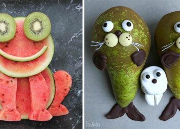 Як красиво та оригінально подати фрукти у будь-яку пру року. Ідеї