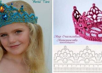 В'яжемо корону для маленької принцеси