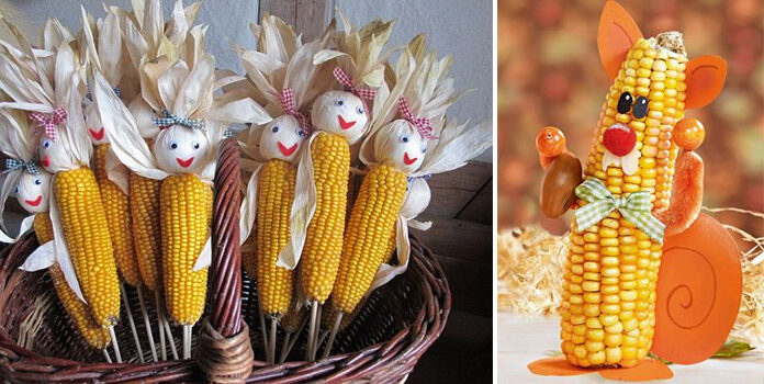 Створюємо шедеври із... кукурудзи