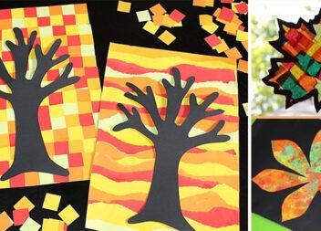 35 ідеї осінньої творчості із дітьми: малюємо, ліпимо, клеїмо