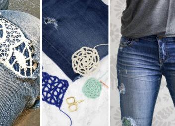 Креативна латочка на джинсах: тепер ваші штани виглядають дуже стильно!