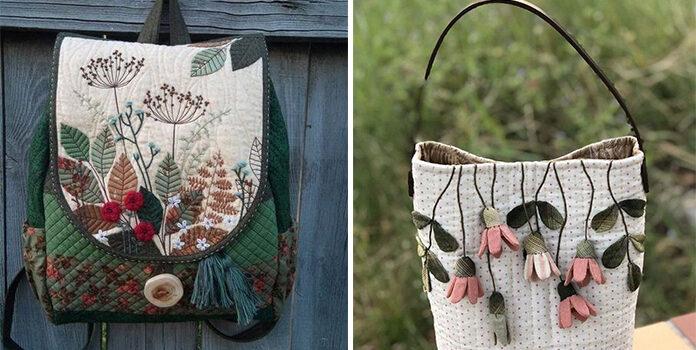 Крутий печворк: сумки, рюкзаки, органайзери