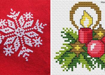 Готуємося до зими ;) Варіанти вишивки для дитячого рукоділля
