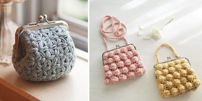 Надзвичайно красиві сумочки, які можна зв'язати самотужки