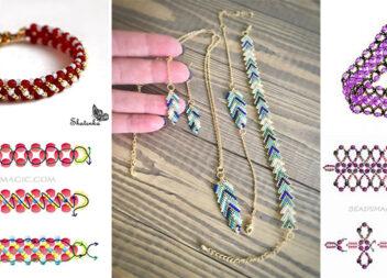 Як створити чарівний браслет із бісеру та перлинок. Ідеї та фото кроки