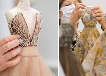 Мініатюри дорослих суконь або неймовірні варіанти для ляльок