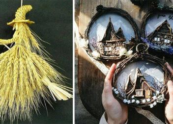 Цікавий та красивий декор із природних матеріалів (20 фото)