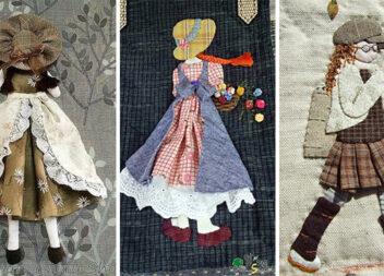 Незвичне клаптикове шиття: жіночі образи в рукоділлі