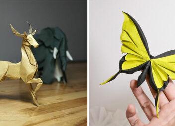 Неймовірне мистецтво оригамі! Вироби + відео