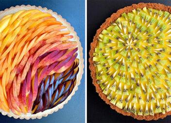 Випічка може бути й такою: геометричні форми в оформленні пирогів