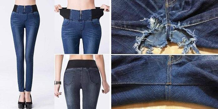 Як відремонтувати улюблені джинси