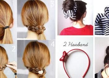 20 шикарних і максимально простих зачісок, які можна зробити за 5 хвилин
